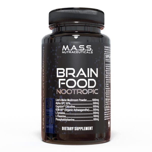 Brain Food best Nootropic Supplements enhance brain function lions mane regrow nerves